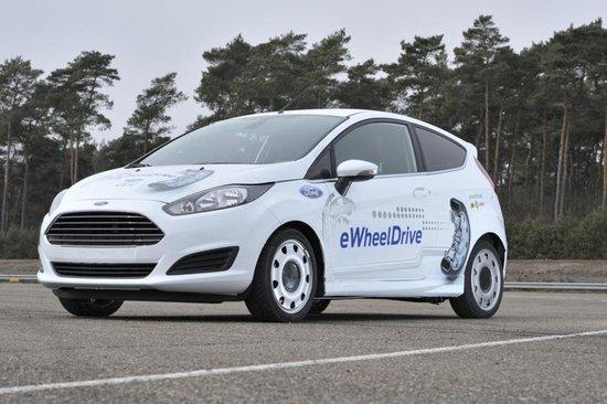 Ford prezinta Fiesta eWheelDrive
