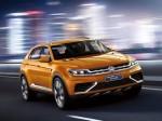 CrossBlue Coupe Concept, noul concept SUV Volkswagen