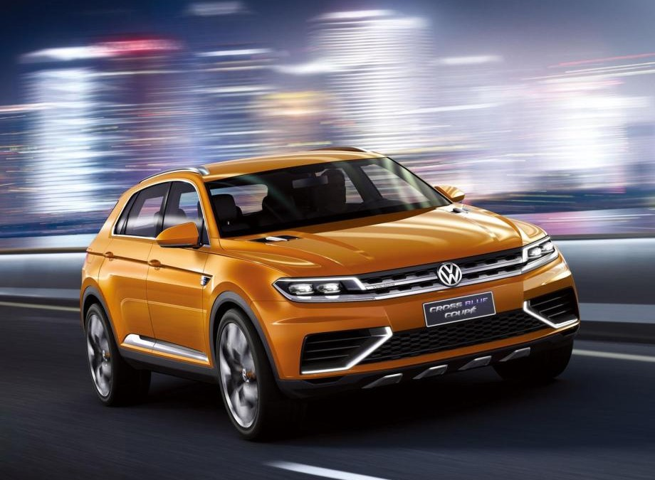 CrossBlue Coupe Concept, noul concept SUV Volkswagen