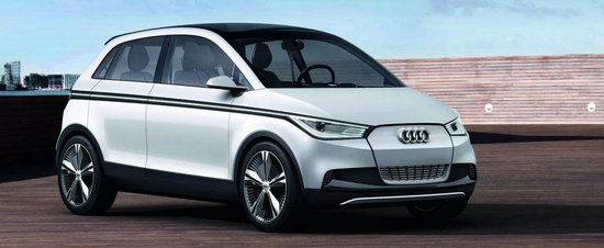 Audi construieste un model electric bazat pe e-Up!
