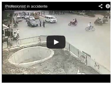 Profesionist in accidente !  VIDEO !!!
