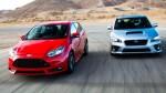 Ford Focus ST 2014 versus Subaru WRX 2015