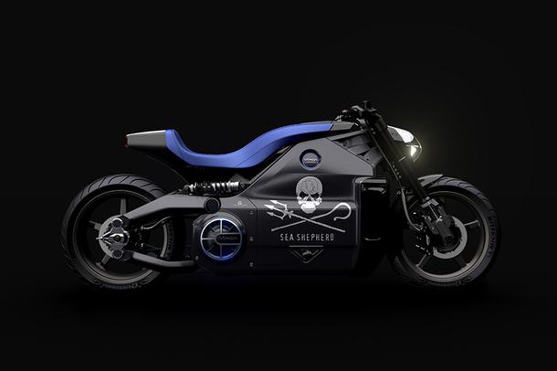 O motocicleta electrica foarte puternica