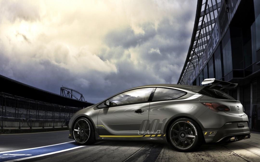 Conceptul Opel Astra OPC Extreme, pregătit pentru Geneva