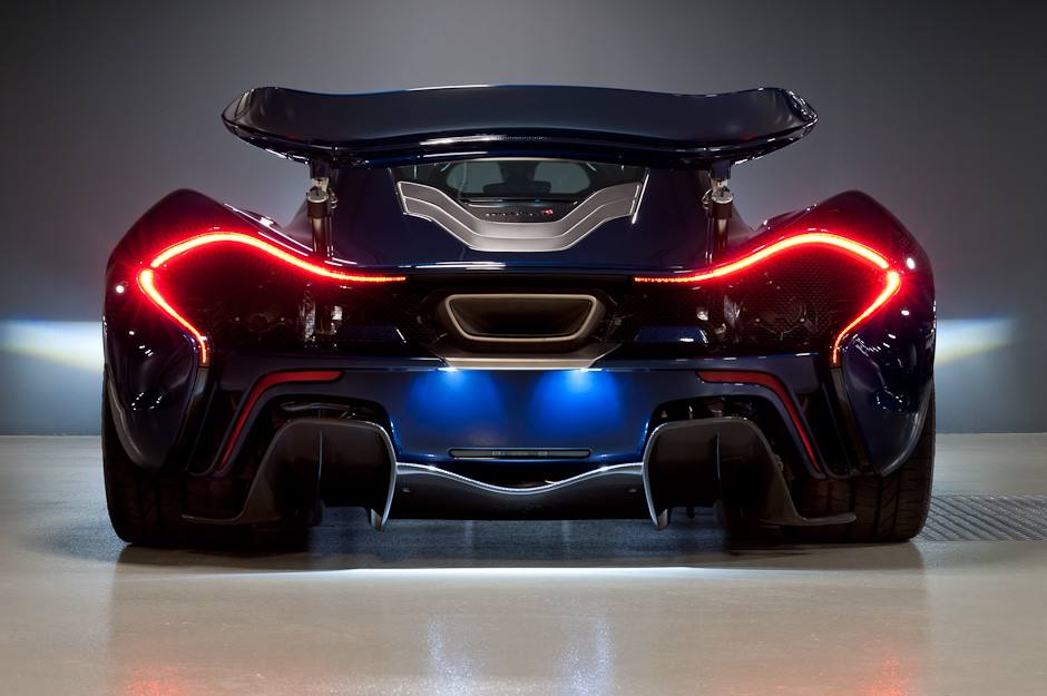 McLaren P1 test drive cu Chris Harris