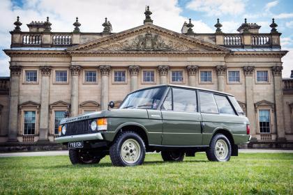 Primul Range Rover produs vreodată va fi scos la licitație